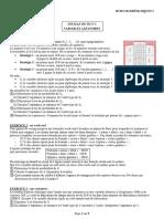FEUILLE DE TD N°2 Variables aléatoires