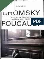 Chomsky Focault Natureza Humana - Justiça vs Poder