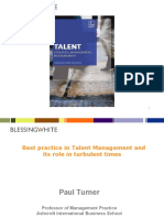 Best Practice in Talent Management