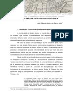 LEITURA DA POESIA AMAZÔNICA E DESOBEDIÊNCIA EPISTÊMICA