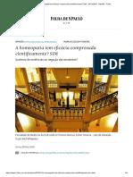 A homeopatia tem eficácia comprovada cientificamente_ SIM - 24_11_2018 - Opinião - Folha