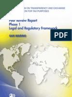 Peer Review Report Phase 1 Legal and Regulatory Framework - San Marino