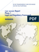 Peer Review Report Phase 1 Legal and Regulatory Framework - Barbados