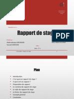 Présentation - Rapport de stage