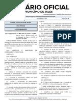 LEI DE PARCELAMENTO, USO  E OCUPAÇÃO DO SOLO DO MUNICIPIO DE JALES - Lei Complementar nº 300 de 07 de janeiro de 2019