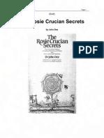 John Dee - Rosicrucian Secrets