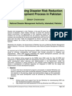 DRR Mainstreaming in Pakistan