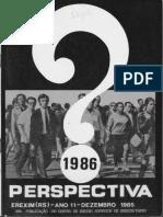 Chimbangue Desnuda Nova Republica_Perspectiva_1985