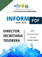 Informe-Departamento de Educacion 2019