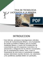 ALTERNATIVA DE TECNOLOGIA LIMPIA RELACIONADA A LA MINERIA