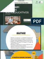 espaços socioeducativos   UFCD 10651
