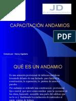 Capacitacion de Andamio