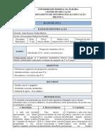 PLANO DE AULA - Progressão Aritmética -  Didática Educacional