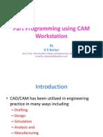 Part programming using CAM workstation1