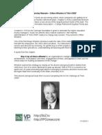 The Leadership Moment - Clifton Wharton & TIAA-CREF