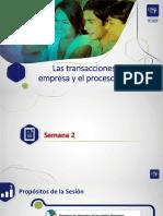 SEMANA 2 Transacciones y Proceso Contable