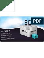3D display technologies
