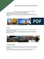 6 Razões para visitar Portugal