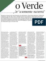 Cabo Verde - artigo Público por Maria João Lopes