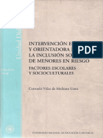 Intervención Educativa y Orientadora Para La Inclusión Social de Menores en Riesgo