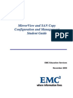 MirrorView and SAN Copy Configuration and Management SRG R29