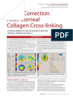 vision after collagen cross linking