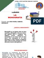 LA MONOGRAFÍA (1)