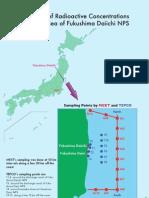 Monitoring Radiation in Sea Water near Fukuschima Daiichi