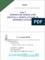 C3 - Tehnici de modulatie digitala