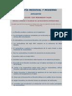 44. RENÉ DESCARTES TEST DE FALSO Y VERDADERO