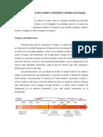 TIEMPO Y ESPACIO COMO CONSTRUCCIONES SOCIALES