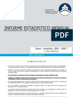 Informe estadístico mensual 2006.12