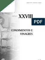 Apostila CONDIMENTOS E VINAGRES