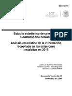 dt71 Estadístico del autotransporte - estaciones instaladas en 2016