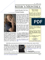 Songwriter's Monthly, April 7, 2011, #1 - Newsletter