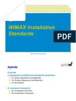 Motorola WIMAX Installation Standards