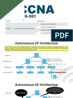 CCNA - M9 - CAP 27 - Analyzing Cisco Wireless Architectures
