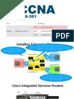 CCNA - M6 - CAP 15 - Parte 1 - Installing Cisco Routers