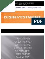 Disinvestment Div A