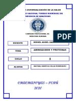 Informe Quimica_aminoacidos y Proteinas