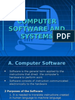 CHAPTER 5 COMPUTER SOFTWARE AND SYSTEMS