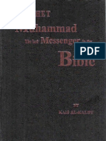 Prophet Muhammad the Last Messenger in the Bible