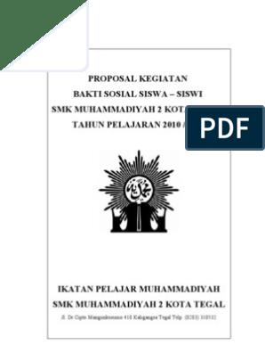 Proposal Kegiatan Bakti Sosial Pdf Ilustrasi