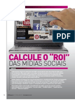 Marketing - Calcule o ROI das mídias sociais