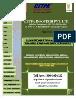 Summer_Training_Details