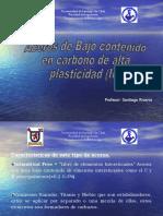 Aceros de Bajo contenido en carbono de alta plasticidad
