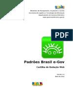 Padroes Brasil e-GOV - Cartilha de Redacao Web