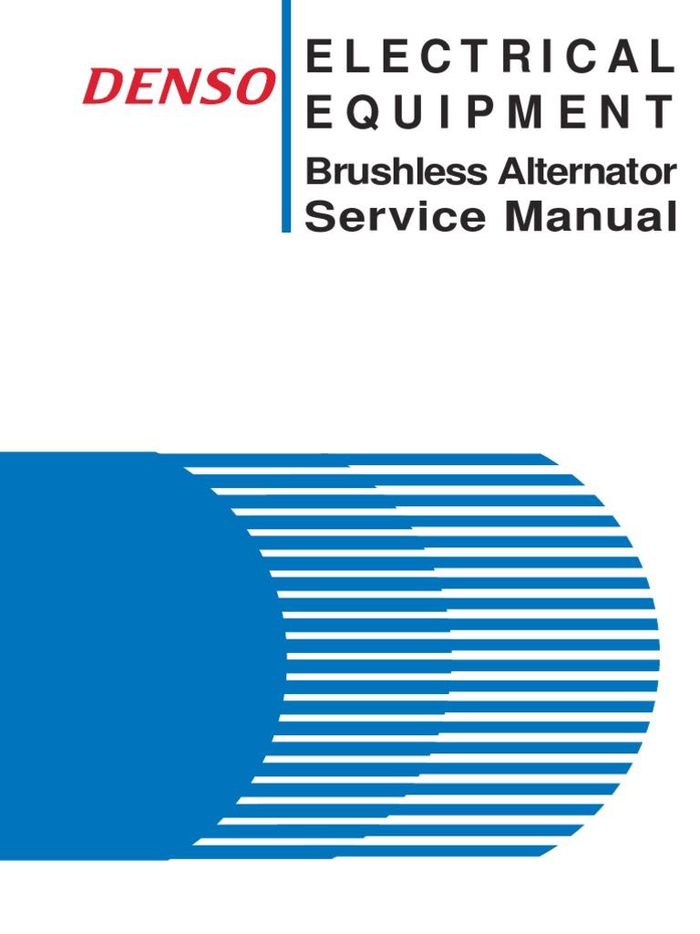 Denso Alternator Service Manual - Good Owner Guide Website •