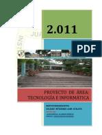 Proyecto de Area Tecnología e Informática COLIJA