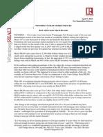 Press Release 04-07-11 March 2011 MLS Statistics